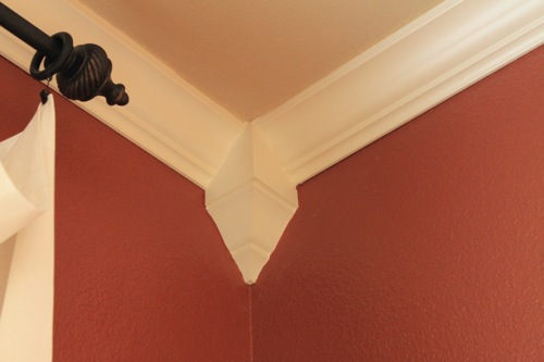 On. Crown Molding in Dining Room w Tutorial   Decorchick