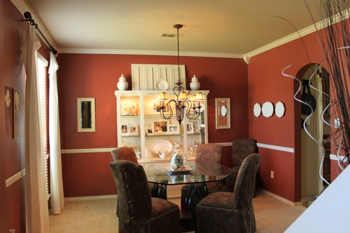 Crown Molding In Dining Room W Tutorial Decorchick