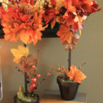 DIY Fall Topiaries…A Michael's Knock Off