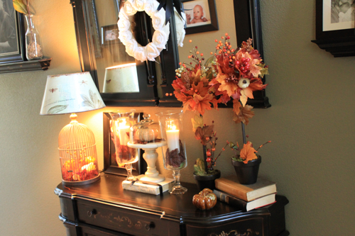 More Fall Decorating Decorchick
