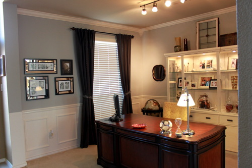 A Dining Room Turned Office