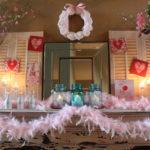 Pretty In Pink…The Mantel