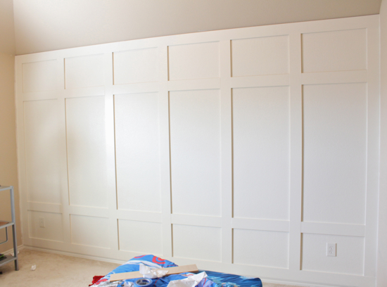 How To The Paneled Wall