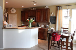 Kitchen with Beadboard