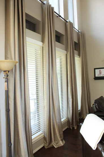 Where To Find Long Living Room Curtains For Cheap | www.decorchick.com