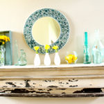 A Sea of Glass…The Summer Mantel
