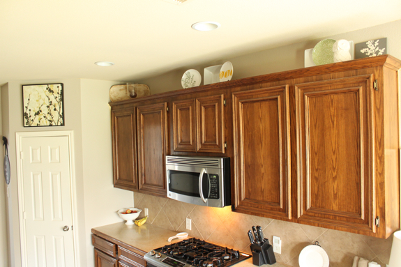 Redecorating Kitchen Cabinets Redecorating Above The