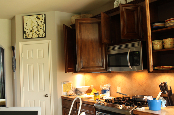 Good Just be looking at the upper cabinets