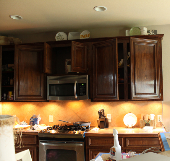 Stained Kitchen Cabinets: A DIY Disaster