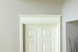 Crown Molding above Door