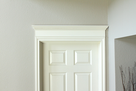 So ... & Making Your Doors Pretty With Molding (and a How-to) - Decorchick! ® Pezcame.Com