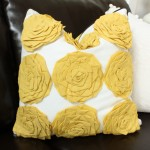 Dwell Studio Rosette Pillow