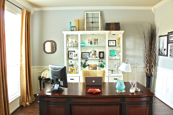 Oh sweeeeeet velvet and some office changes decorchick for Alternative ideas for formal dining room