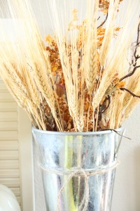 fall foliage vase filler