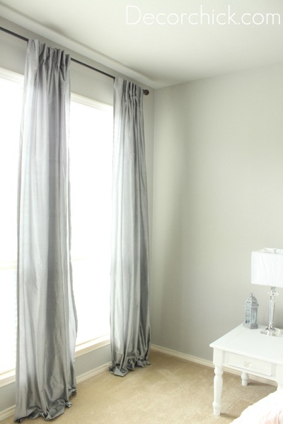 Grey Curtains Decorchick