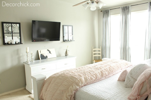 Pink And Grey Bedroom Decorchick