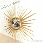 Martha Stewart Sunburst Mirror