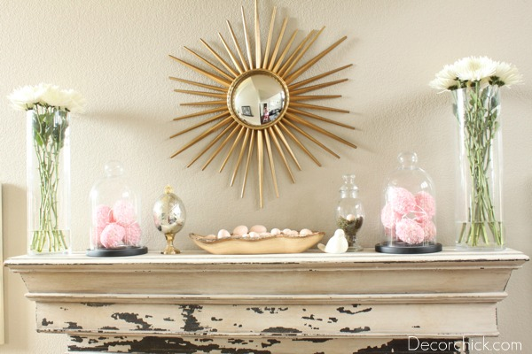 The Spring And Easter Mantel