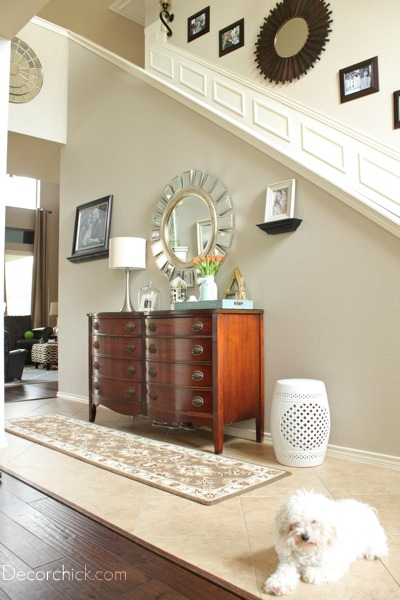 Entryway Dresser | www.decorchick.com