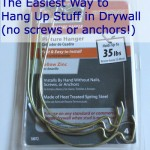 The Best Trick/Tool to Hang Stuff on Drywall and Sheetrock