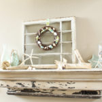 The Beachy Summer Mantel