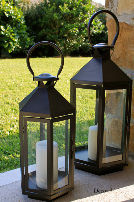 Image Gallery Large Outdoor Floor Lantern