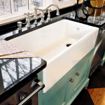 Farmhouse Aqua Sink