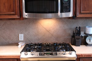 Beige Backsplash