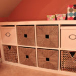 Ikea Expedit in Laundry Room | www.decorchick.com