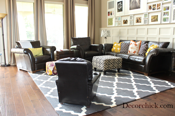 our new living room rug! - decorchick! ®