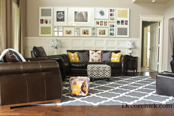Our New Living Room Rug! - Decorchick!