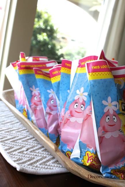 Yo Gabba Gabba Party Favors