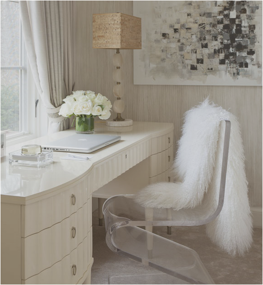 Clever and Pretty Ways To Have A Desk in the Bedroom - Decorchick! ®