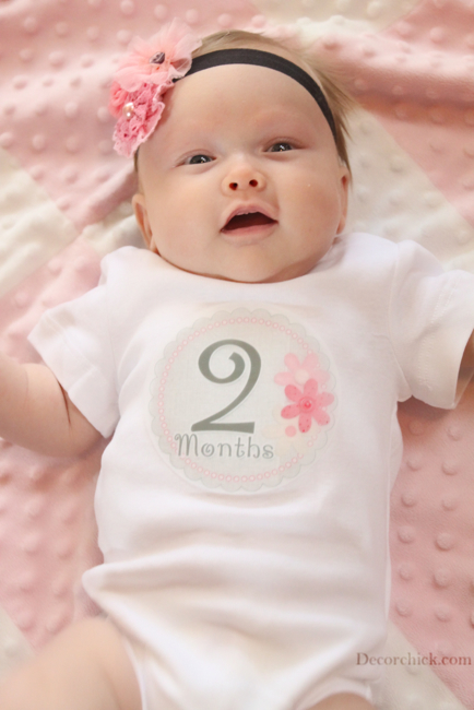 2 month old baby picture