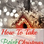 How To Take Gorgeous Bokeh Christmas Tree Pictures
