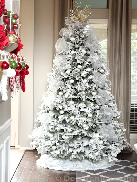 Our White Christmas Tree