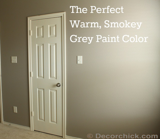 smokey grey paint