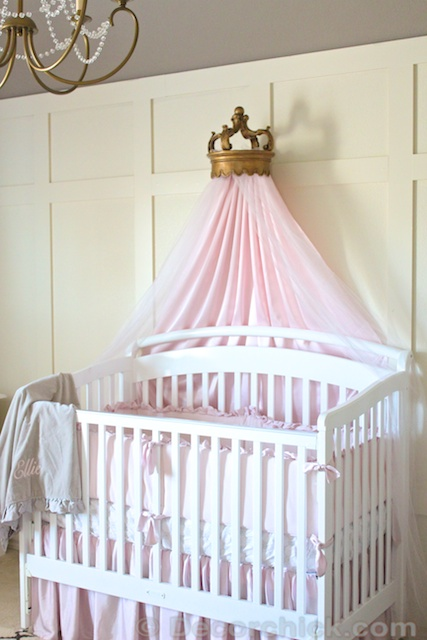 The Nursery Bed Crown Details {and a Giveaway!} - Decorchick! ®