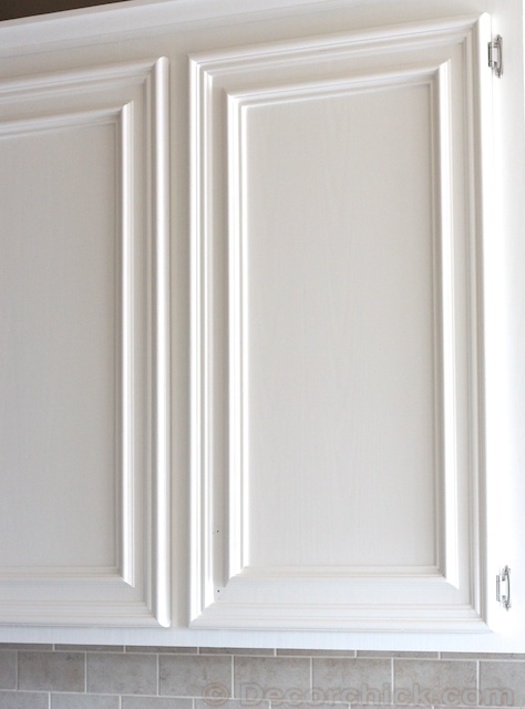 oak cabinets painted whiteI Know Im a Fraud But I Have a Good Reason  Decorchick