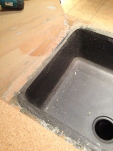 Seamless Sink Install