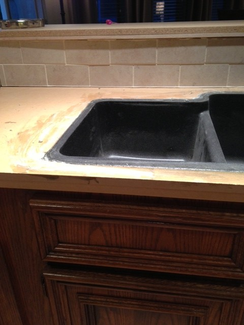 Seamless sink for Seamless quartz countertops