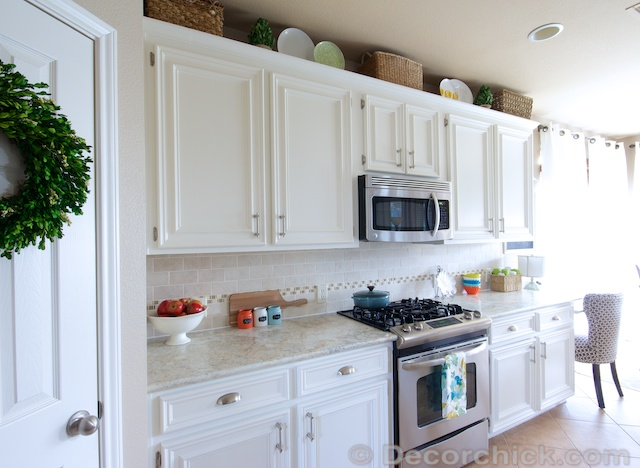 Perfect Creamy White Cabinets