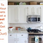 How To Paint Your Cabinets Like The Pros, and Get the Grain Out!