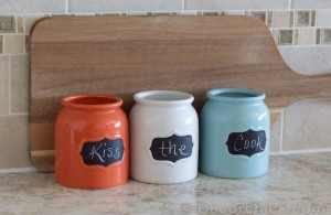 Kiss the Cook Jars