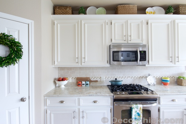 Kitchen Makeover White Cabinets