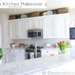 The Moment You've Been Waiting For…Our White Kitchen Makeover Reveal!!