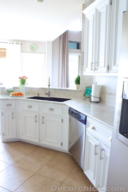 White Kitchen Redo