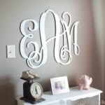 Nursery Update: The Prettiest Monogram Ever