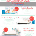 Silhouette Giveaway and Special Fabric Promotion!