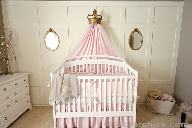 Nursery Bed Crown